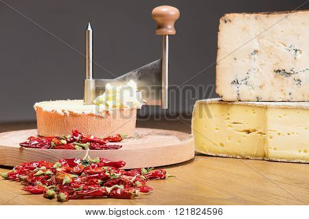 Italian Cheese With Peppers