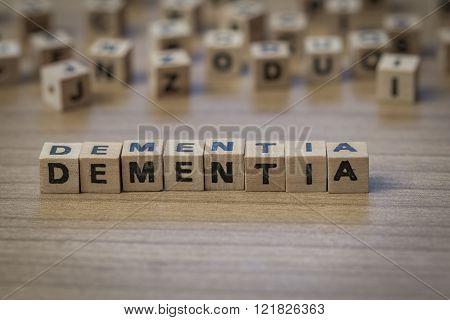 Written In Wooden Cubes