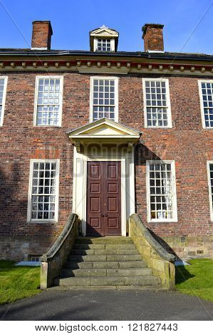 The 15 century historical Foxdenton Hall in Chadderton Greater Manchester