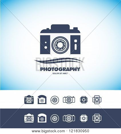 Photo Camera Logo Icon