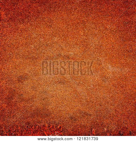Rusty metal background close-up