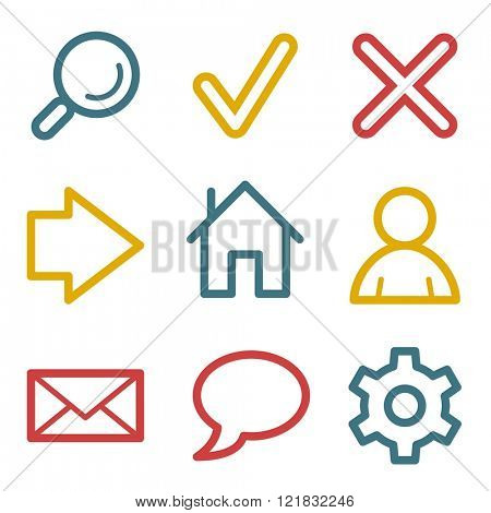 Basic web icons