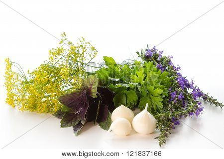 Garlic And Herbs