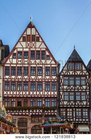 Romerberg Square, Frankfurt, Germany