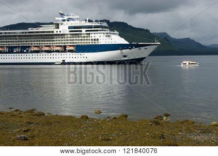 Alaskan cruise ship destination vacation