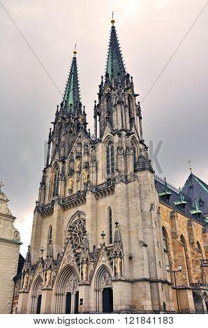 St. Wenceslas Cathedral in Olomouc Czech Republic
