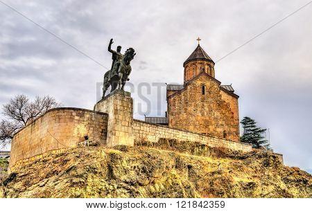 Monument of King Vakhtang I Gorgasali in Tbilisi