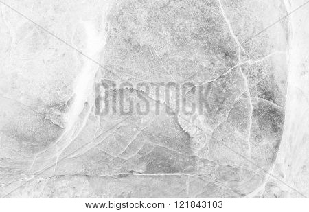 Closeup Surface Marble Stone Wall Texture Background In Black And White Tone