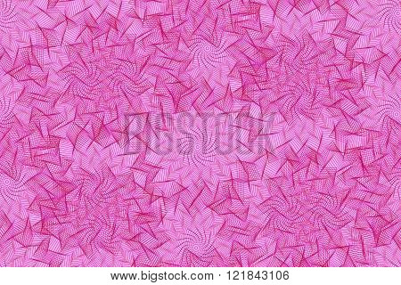 Seamless Pattern With Pink Element Of Guilloche