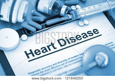 Heart Disease. Medical Concept.