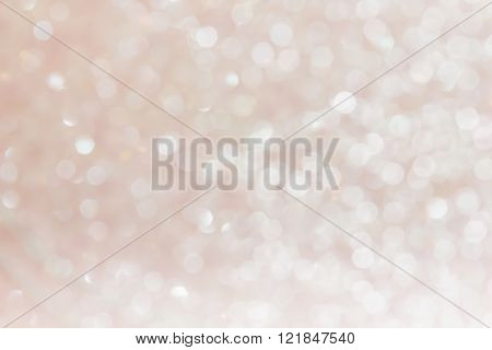 White pearl pastel soft bokeh abstract background