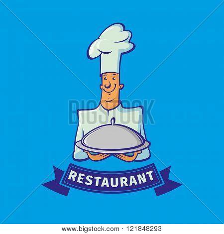 Chef Vector Emblem