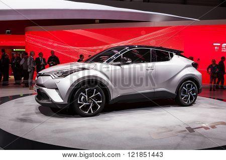 Toyota CH-R in Geneva