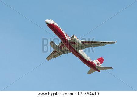 Tupolev Tu-204 Jet Aircraft