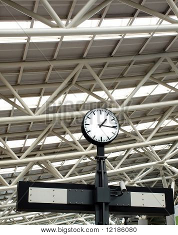 Large Train Station Clock