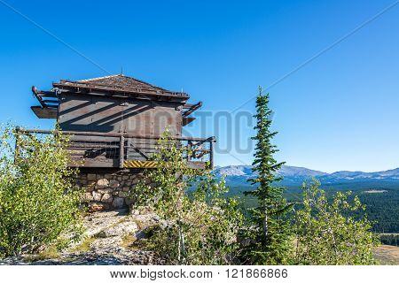 Fire Lookout Building