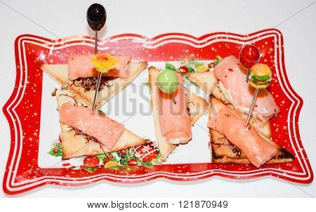 original finger food of Italian fine cuisine