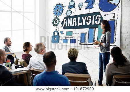 Analysis Information Analytics Planning Concept