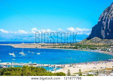 rare view of beach near a marine reserve