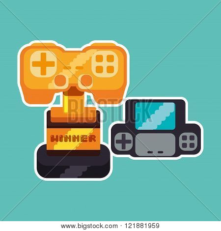 Videogame icon design
