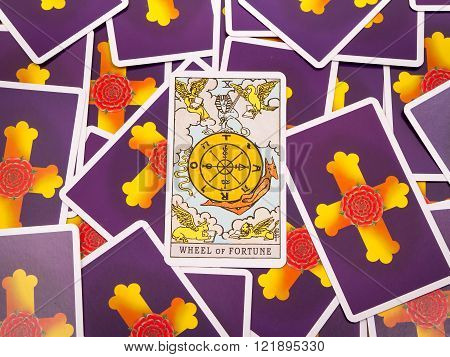 Tarot Cards Tarot, The Wheel Of Fortune Card