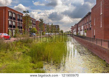 Eco Friendly Suburban Area
