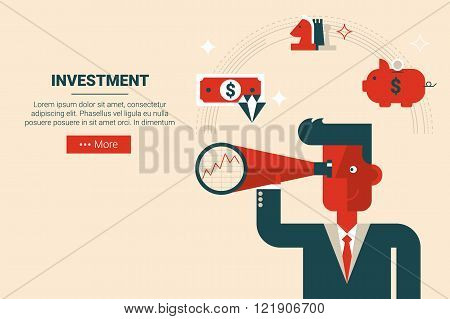 Investment Strategy Concept