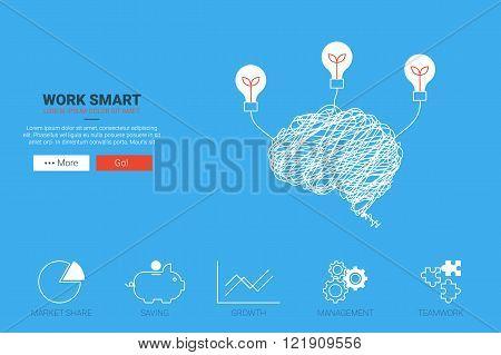 Work Smart Concept