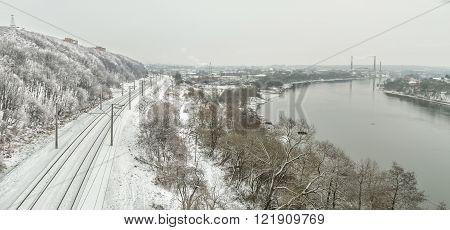 Railway Near The River
