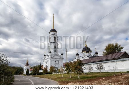 St. Tikhon's Monastery of Transfiguration diocesan - convent of Lipetsk and Yelets Diocese of the Russian Orthodox Church located 7 kilometers north of the city of Zadonsk.