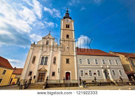 Church of saint Ana in Krizevci Prigorje Croatia