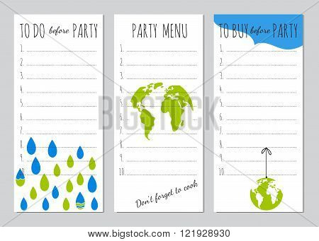 Earth Day party organizer
