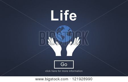 Life Balance Being Birth Breath Healthy Simple Concept