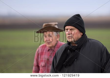 Peasants On The Field