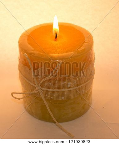 Candle thick on a light background, beautiful. ** Note: Visible grain at 100%, best at smaller sizes
