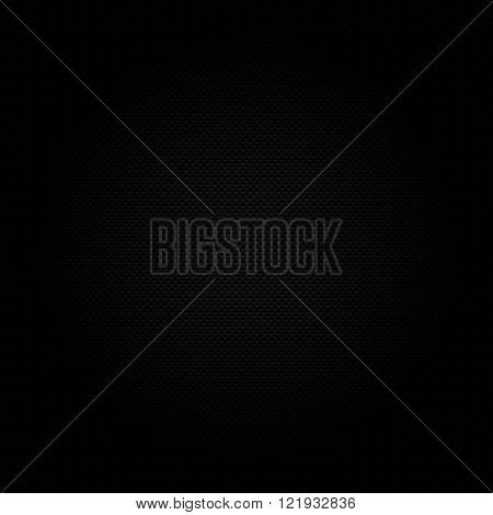 Dark carbon fibre background