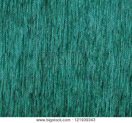 Green Textile Carpet Texture.