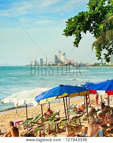 Pattaya Beach , Thailand
