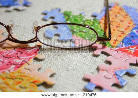 Glasses And Puzzle Ver 2