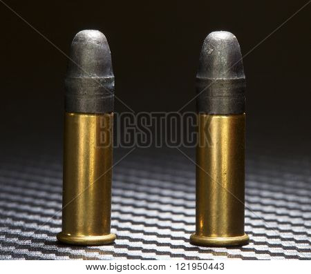 Ammunition for twenty two firearms that are rim fire
