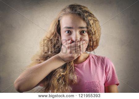 Spellbound girl
