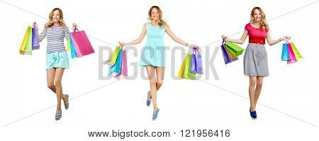 Ecstatic shopper