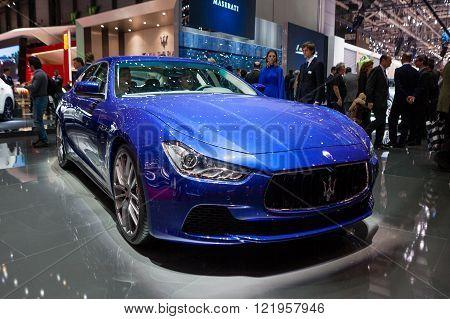 Maserati GranTurismo in Geneva
