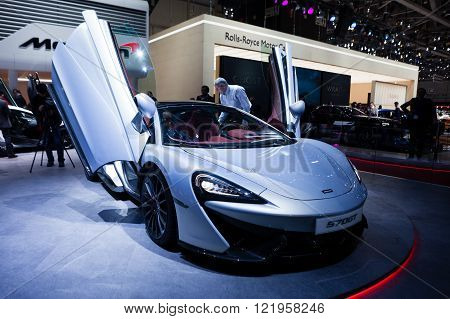 McLaren 570GT in Geneva