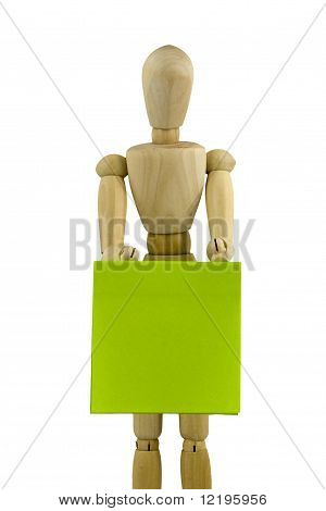 Wooden Dummy Figure