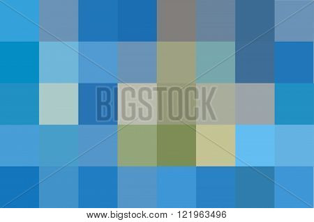 blue color abstract censor vector in square background