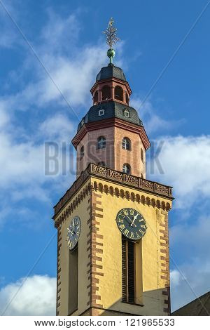 St. Catherine Church is the largest Lutheran church in Frankfurt am Main Germany