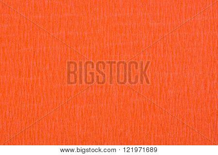 Orange tissue paper, a background or texture