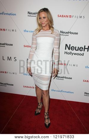 LOS ANGELES - MAR 15:  Maria Bello at the The Confirmation Premeire at the NeueHaus on March 15, 2016 in Los Angeles, CA