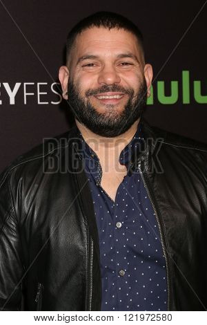 LOS ANGELES - MAR 15:  Guillermo Diaz at the PaleyFest Los Angeles - Scandal at the Dolby Theater on March 15, 2016 in Los Angeles, CA